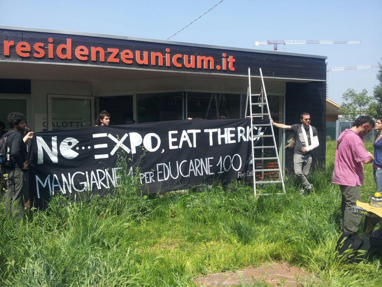 Occupazione Eat the Rich - © Michele Lapini