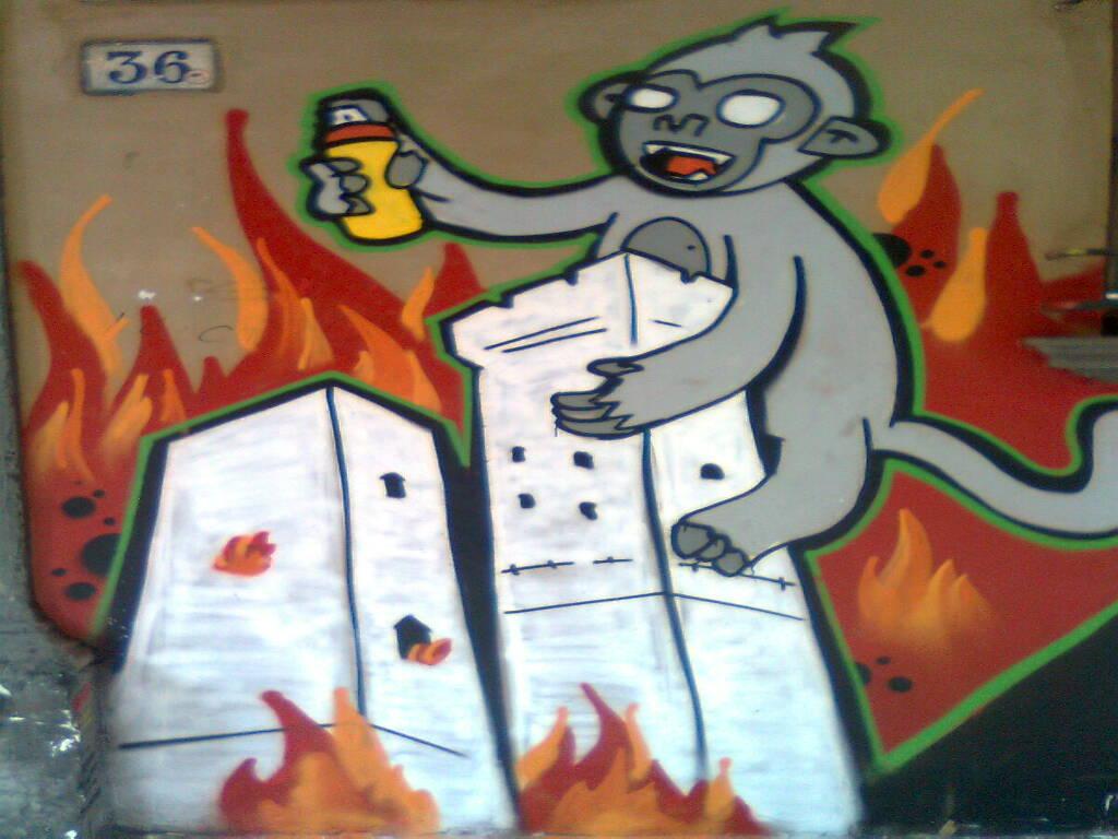 Writers, graffiti