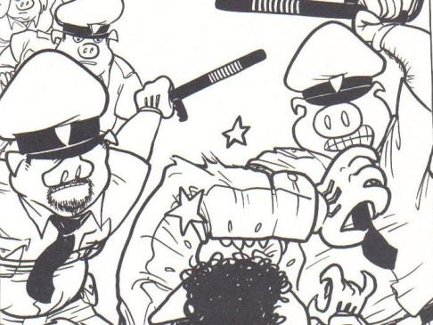 """Vignetta da """"Zona del Silenzio"""", graphic novel di Checchino Antonini e Alessio Spataro (2009)"""