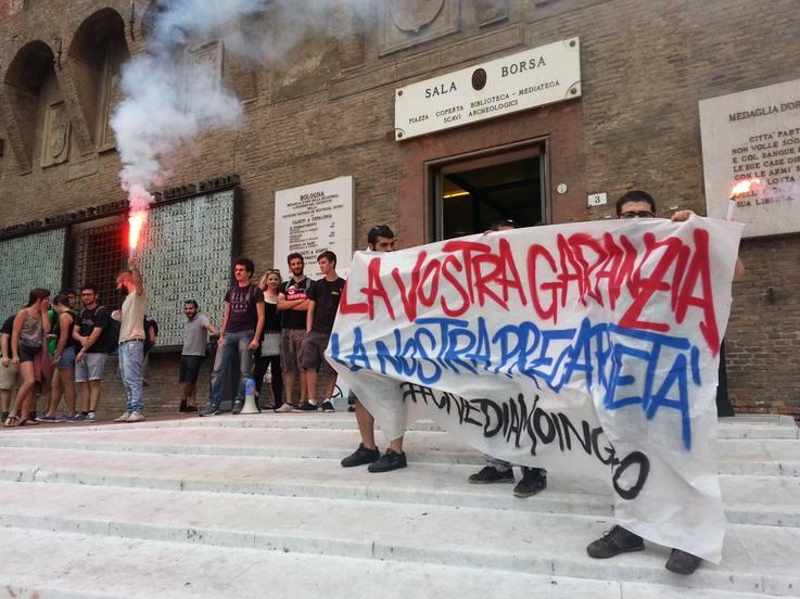 Blitz #civediamoingiro a presentazione Garanzia Giovani (foto Zic.it)