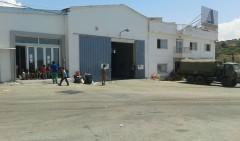 Campo rifugiati in Grecia (foto Quando suona la campanella)