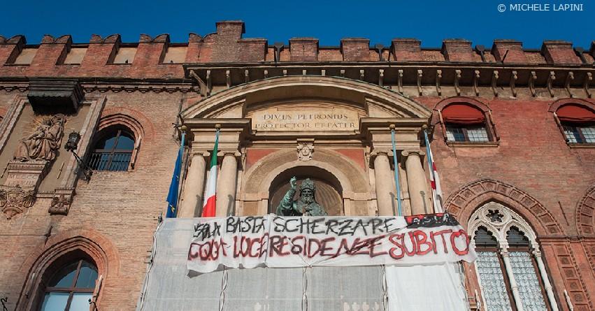 Palazzo d'Accursio, Merola luce acqua residenza subito (© Michele Lapini)