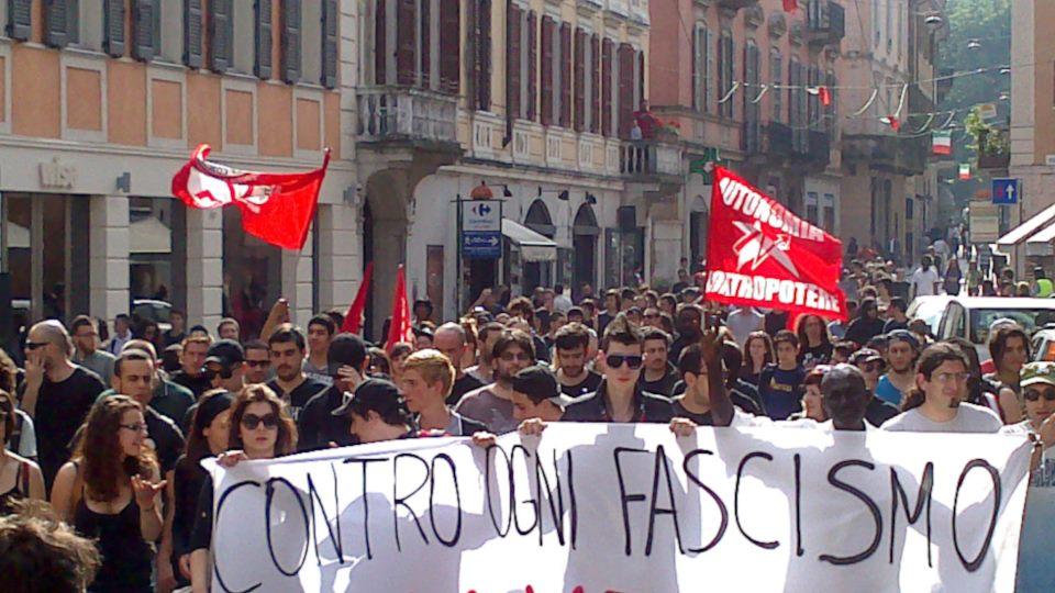 Cremona Antifascista (foto Infoaut)