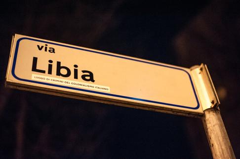 foto 1 targa via Libia