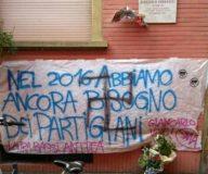 Fascisti  via Broccaindosso (foto inviata da un lettore)