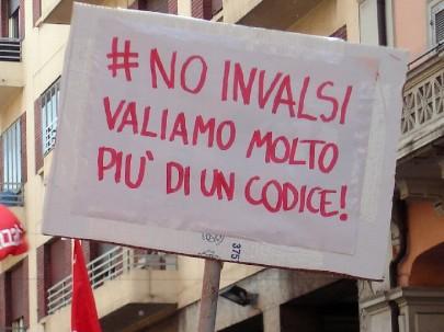 No Invalsi (foto Zic)