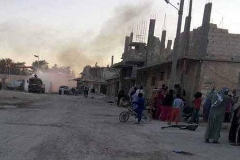 Kobane, 25 giugno 2015 - foto da twitter @IvanGrozny3