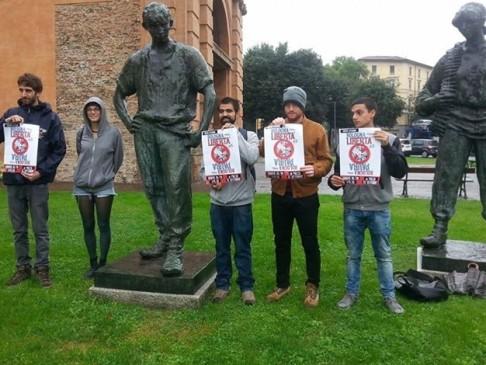 Conferenza stampa Libertàdidimora (foto fb Hobo)