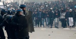 Manifestazione a Lione