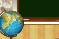 Mappamondo a scuola