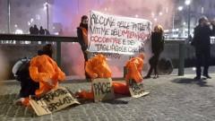 Corteo contro la guerra a Milano (foto Noi Restiamo)