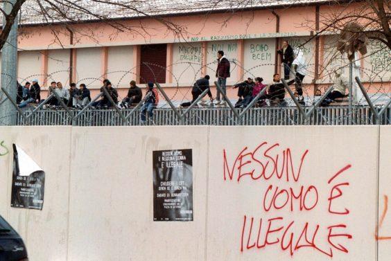Cie via Mattei (foto Luciano Nadalini)