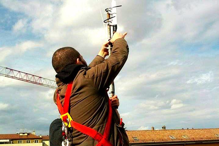 Antenna Ninux (foto Làbas)