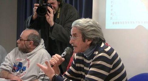 Pino Giampietro (foto dal sito di Radio Onda d'Urto)