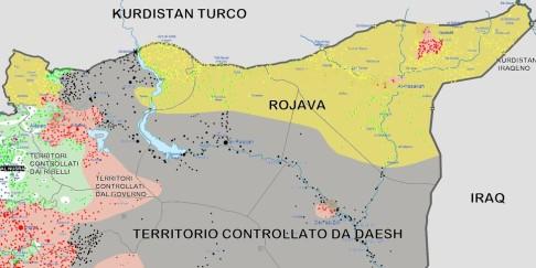 Rojava al 13 marzo 2016