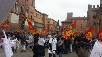 Protesta insegnanti Usb (repertorio)