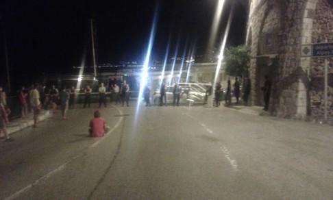 (foto Fb Presidio Permanente No Border - Ventimiglia)