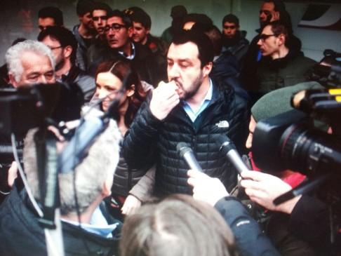 Matteo Salvini (foto Zic)