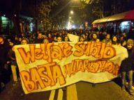 Corteo per welfare studentesco (foto Zic)