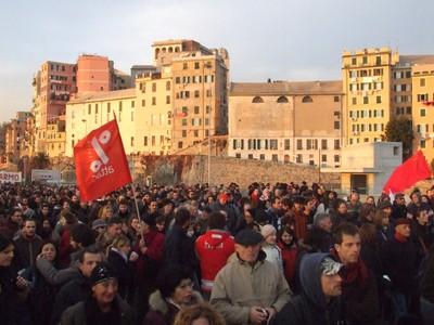 05 Corteo Genova 17 novembre 2007