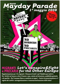 poster Mayday008 a Milano