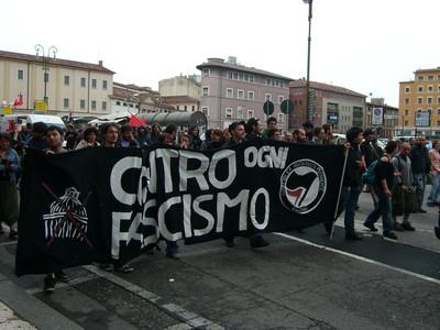 Verona, Corteo Antifascisti 17. Maggio '08