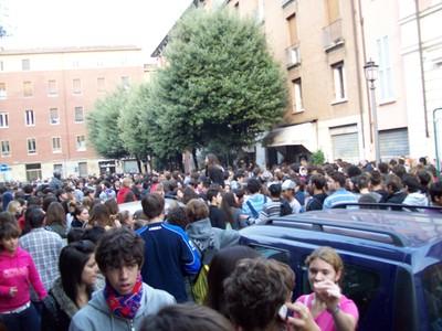 1. Manifestazione studenti medi anti-Gelmini 10 ottobre 2008