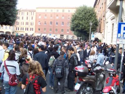 2. Manifestazione studenti medi anti-Gelmini 10 ottobre 2008