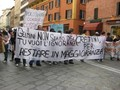 studenti in corteo