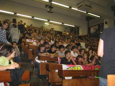 studenti in corteo