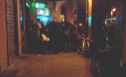 l'aperitivo al Bar Aldrovandi