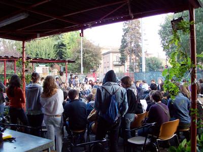 assemblea studenti medi a Vag 61, 25 ottobre 2008 (2)
