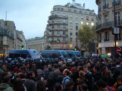 Foto sciopero manifestazione Parigi