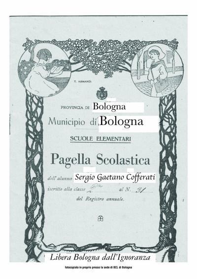 Pagella Cofferati- lato a
