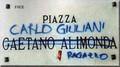 Piazza Carlo Giuliani, ragazzo