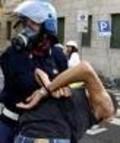 Arresto manifestante